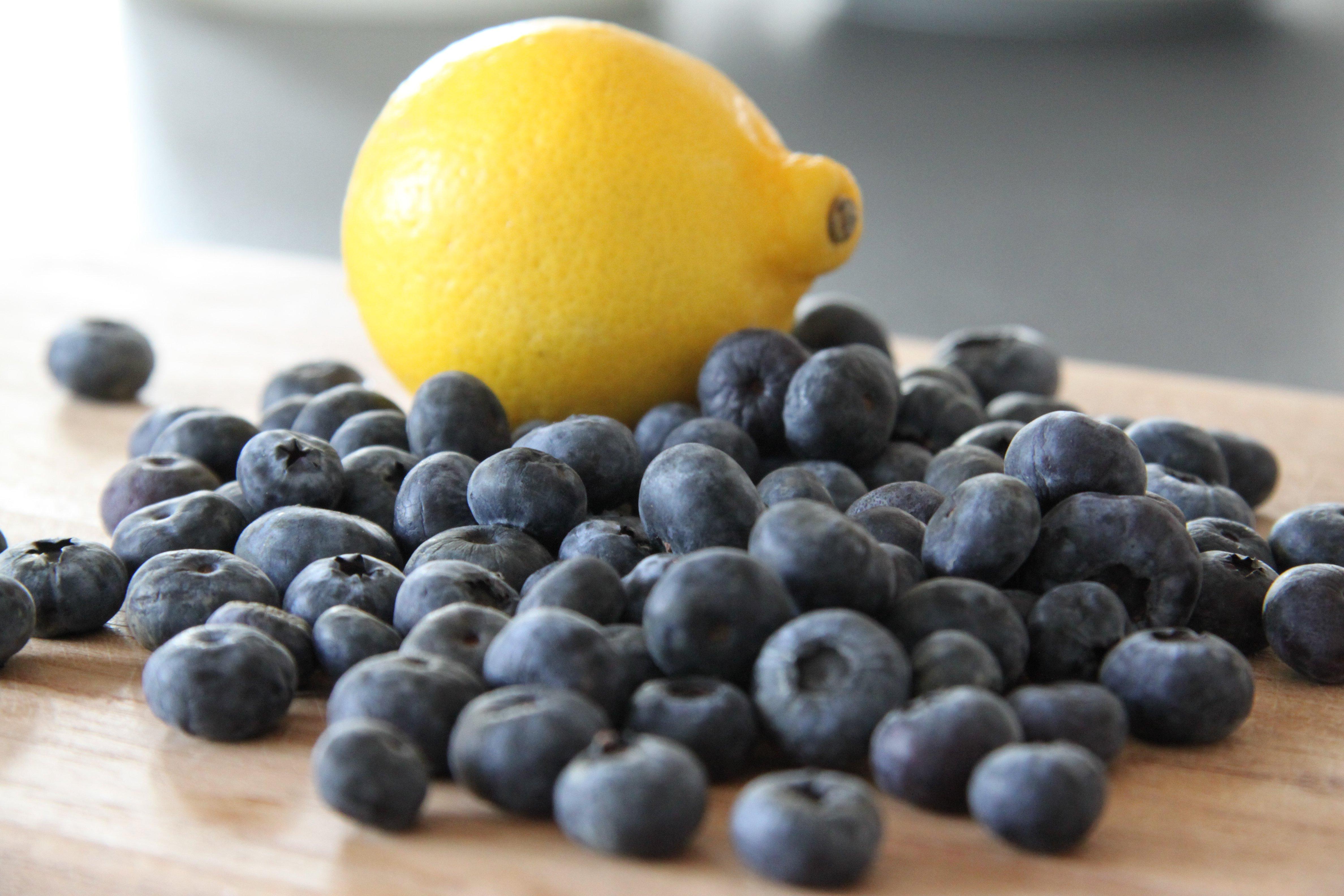 Blåbærsorbet opskrift   blåbæris   Dessert