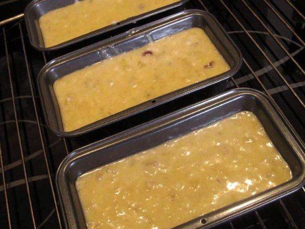 Banankagerne i ovnen