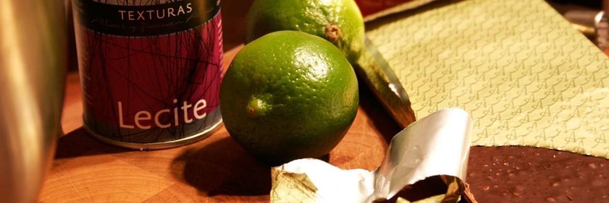 Lecite, mælk, fløde, lime og chokolade (kun chilien mangler i billedet)