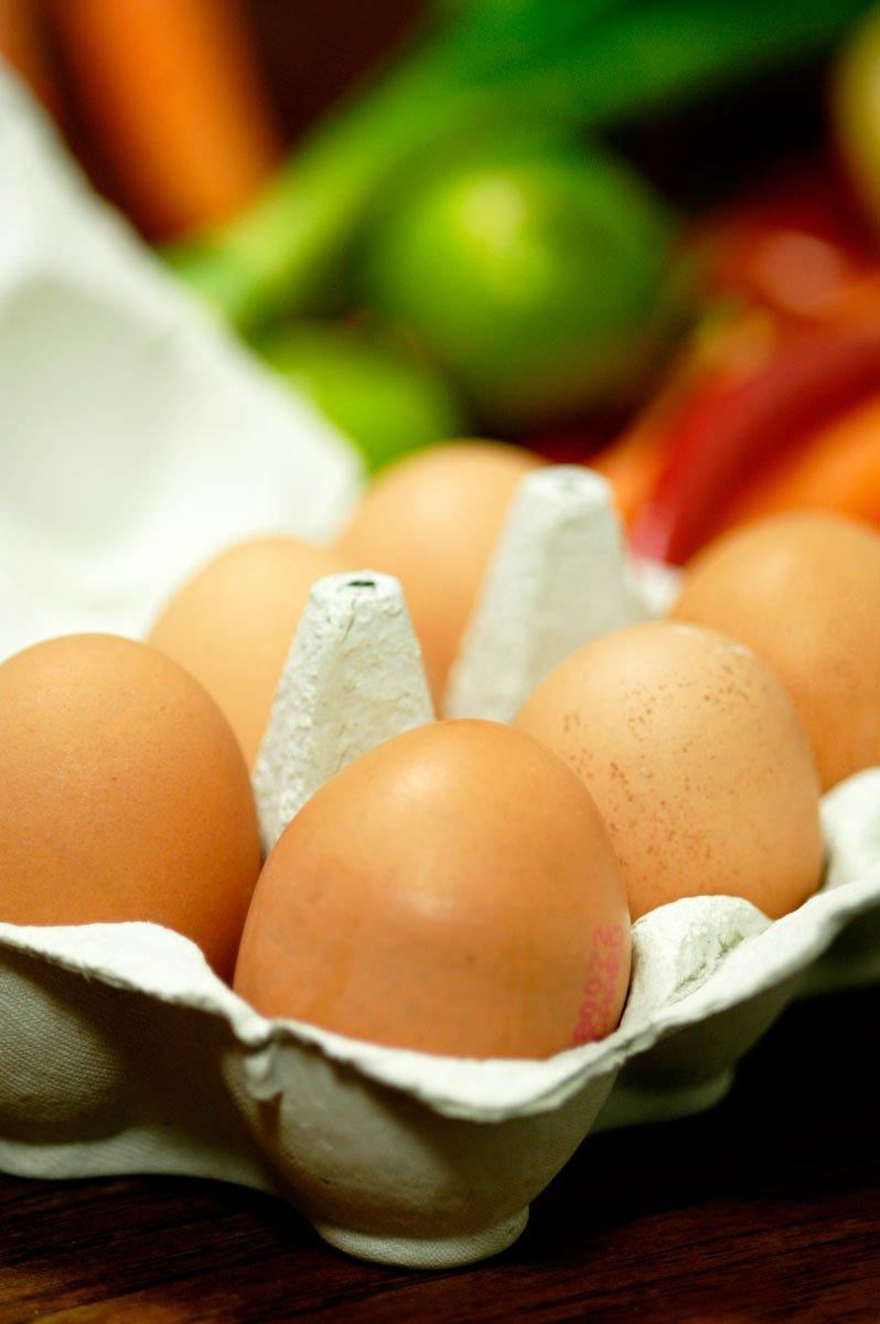 Æg - der kan også bruges pasteuriseret