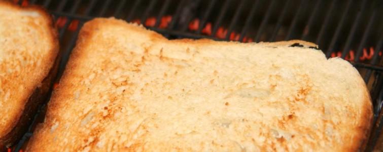 Ristet toastbrød