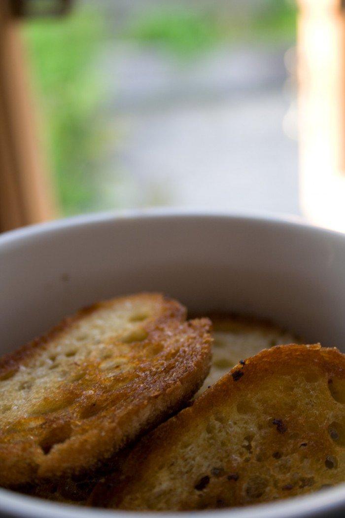 Smørstegt brød