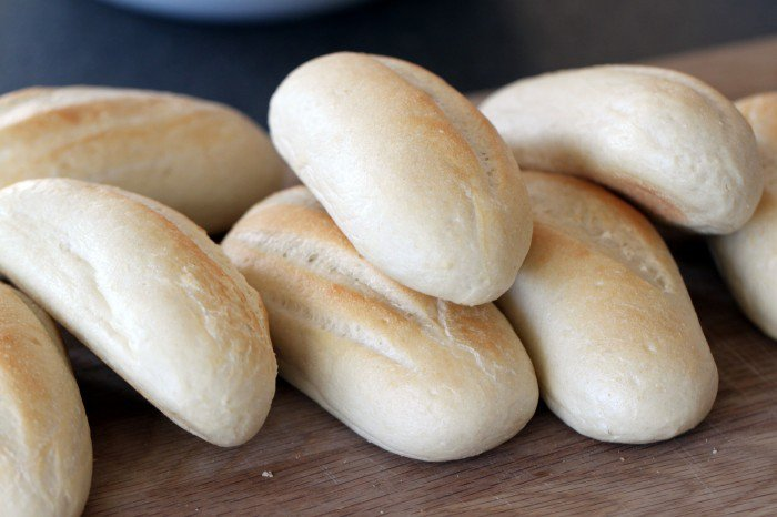 Billige optøede brød