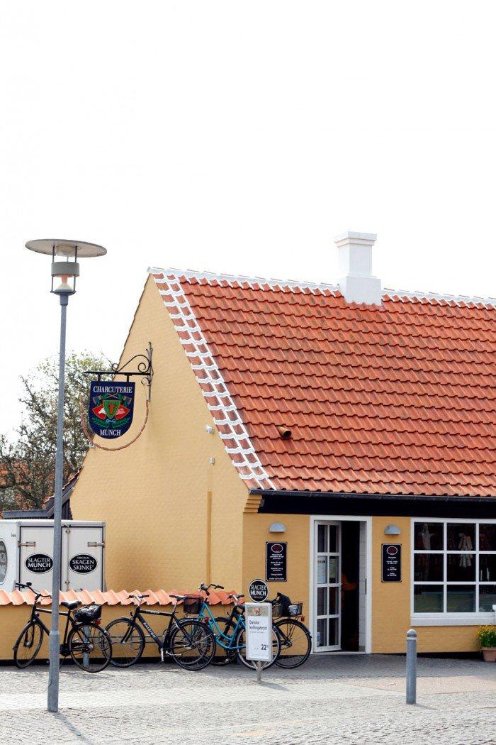 Slagter Munch, Skagen