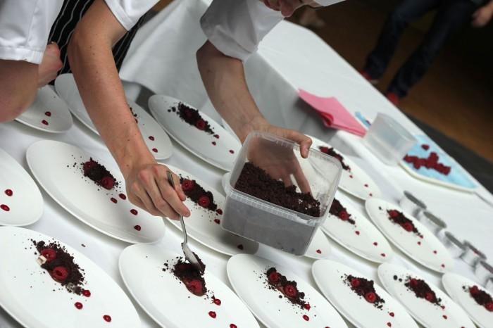 Knas ligges på det engelske dessert