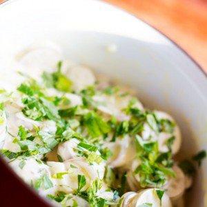 <b>Kold kartoffelsalat</b>