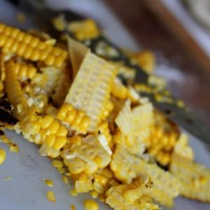<b>Grillede majskolber og majssauce</b>