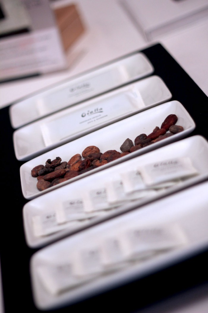 Oialla by Bojesen,kakaobønne smagsprøve