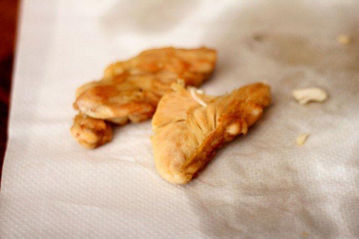 Konfiteret kyllinge inderfilet