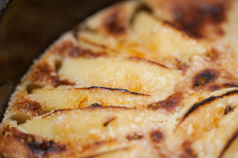Æblekage | opskrift på æblekage | Kager