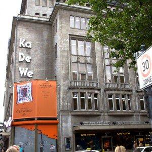 <b>KaDeWe, Berlin. Gourmet afdelingen i Europas anden største stormagasin</b>