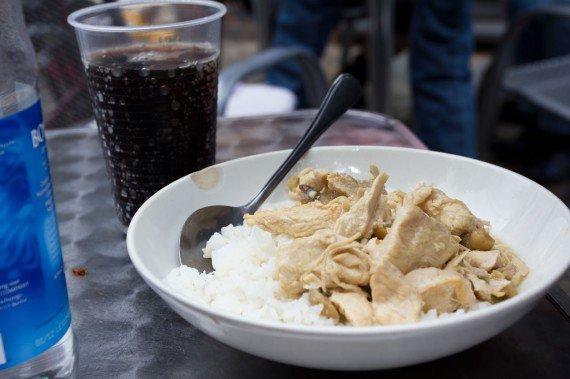Kylling med ris