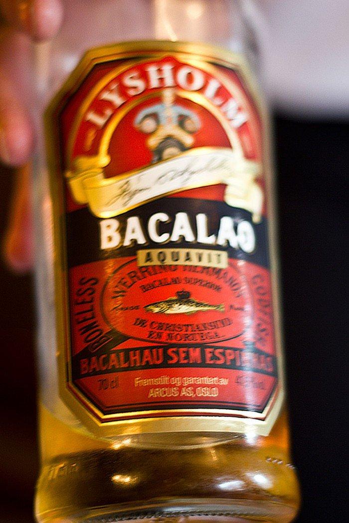 Lysholm Bacalao aquavit