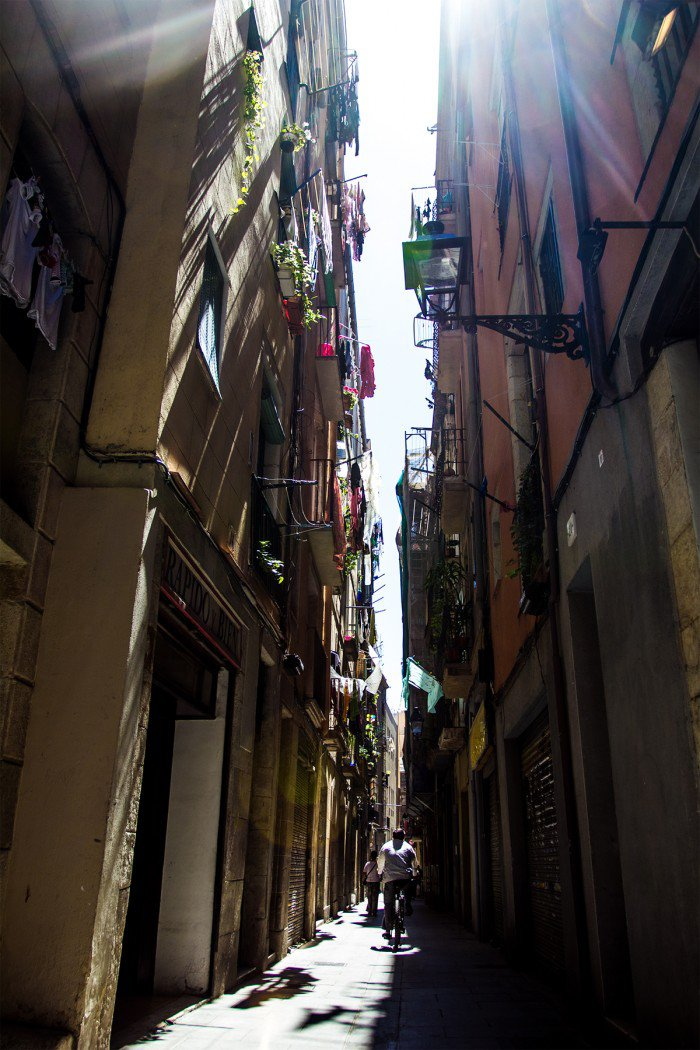 Barrio Gtic i Barcelona
