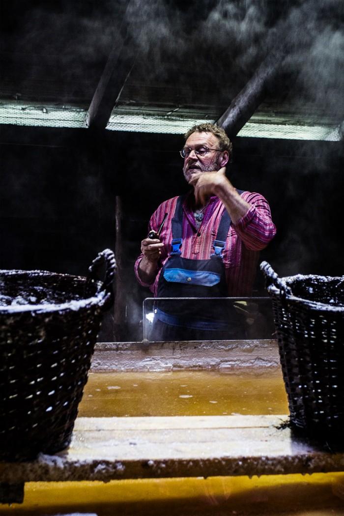 Poul Christensen fra Læsø Sydesalt fortæller om salt, Læsø og centeret