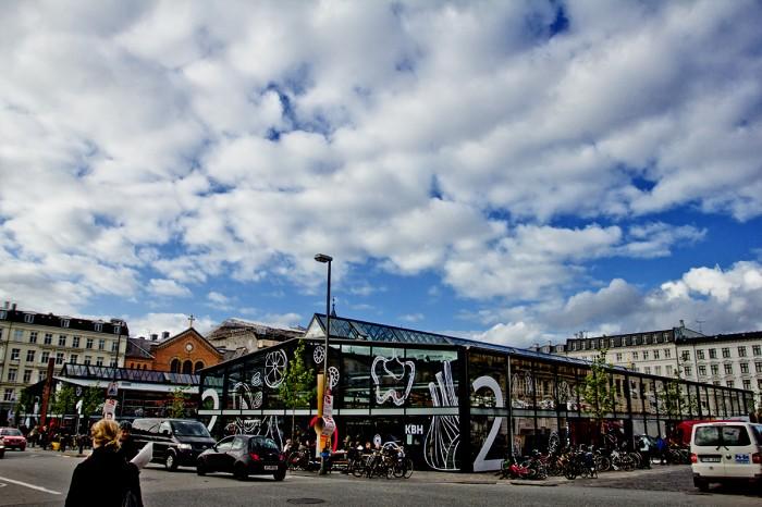 Torvehallerne, Israelsplads. København