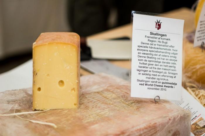Skalling, endnu en ost fra Enghavegård Osteri