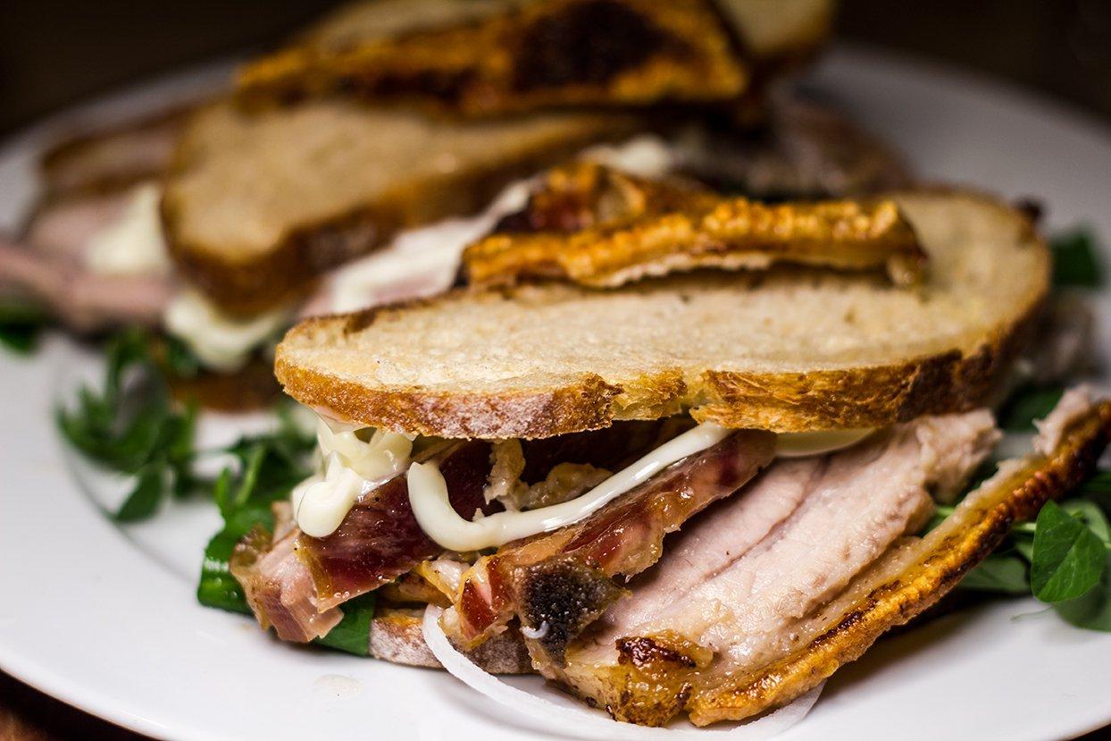 Kok Wassim Hallal : Ribbensteg sandwich med et moderne twist