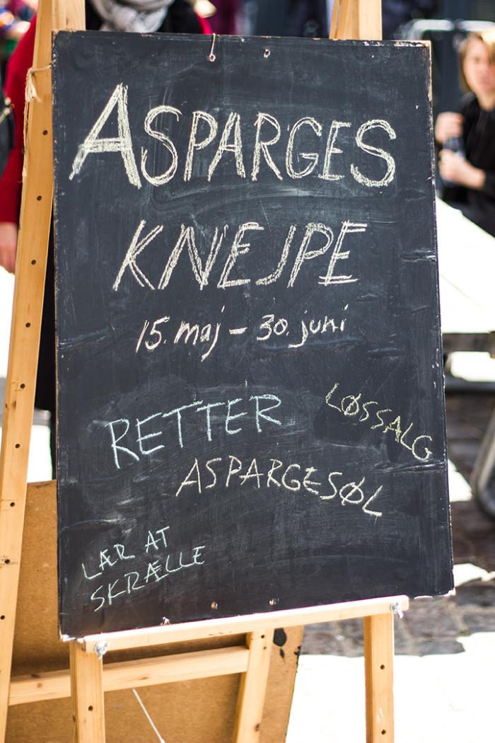Asparges-Knejpen åbningstider