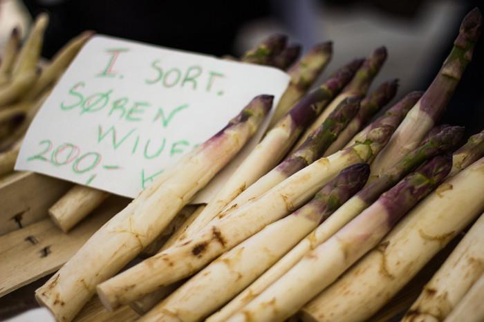 Hvid aspargs fra Søren Wiuff