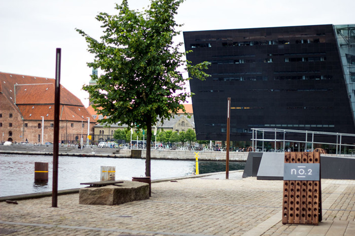 Udsigten over Københavns havn