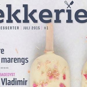 <b>Nyt gratis digitalt magasin om kager, desserter, brød, is og meget mere er på gaden</b>