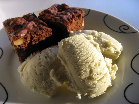 Bananis med brownies