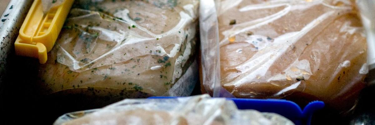 Ramsløg -, hvidløg- og paprikbacon på fjerde dagen