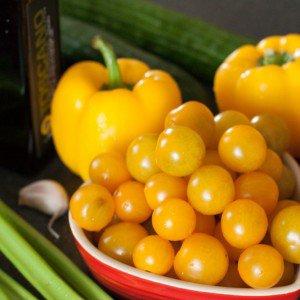 <b>Gazpacho med gule tomater</b>