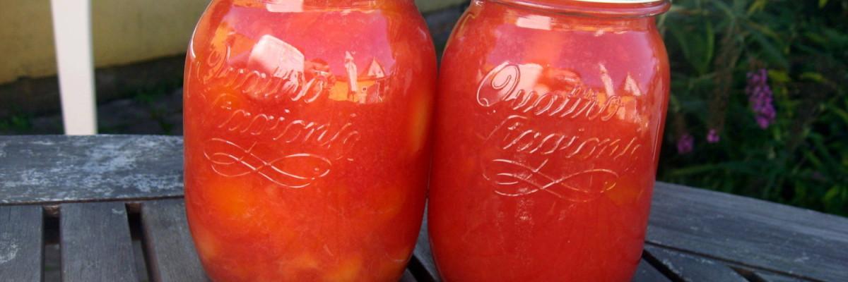 2 glas blommemarmelade